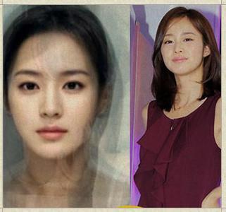 韩国最漂亮美女合成照