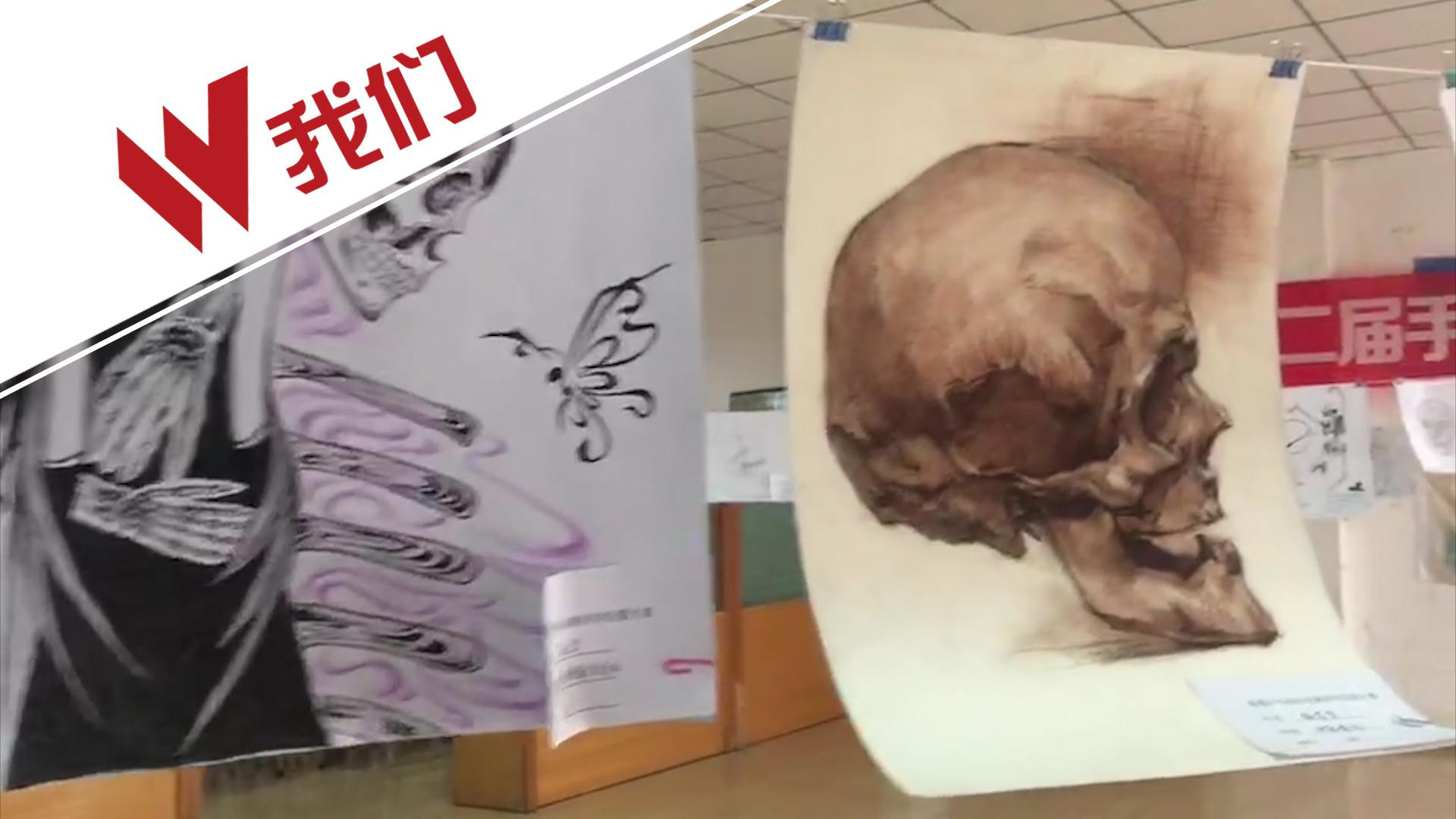 医学生手绘解剖图网上走红 网友:学医被耽误的画家