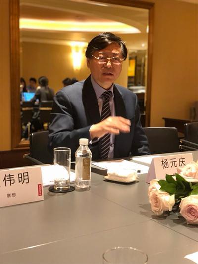 杨元庆:手机业务的确在亏损 中国区仍将保持投资